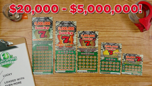 How to play lucky 7s scratch-off